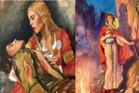sigyn mitología nórdica