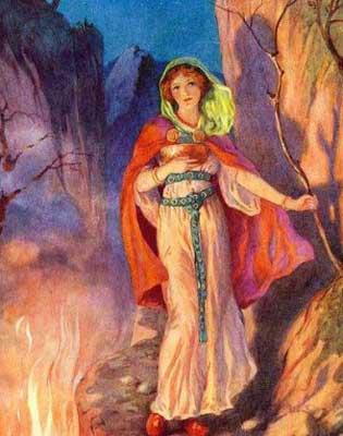 sigyn diosa nórdica