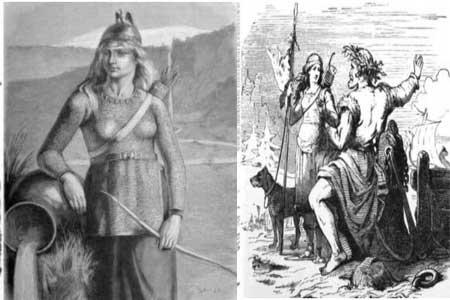 skadi mitología nórdica