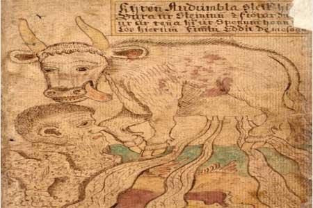 Audhumla mitología nórdica