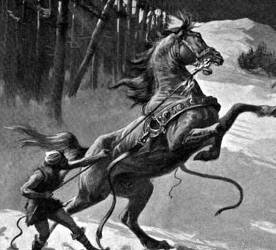 Svadilfari es uno de los Caballos de la Mitología Nórdica