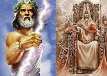 diferencias mitología nórdica y griega