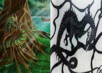 Nidhogg en la mitología nórdica