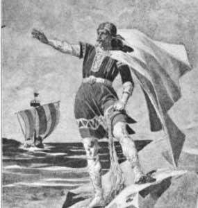 dios del mar mitología nórdica