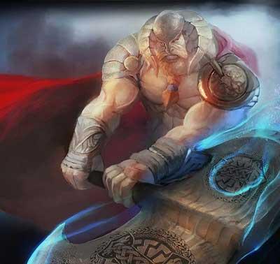 borr en la mitología nórdica