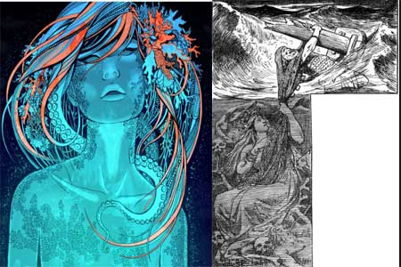 ran mitología nórdica