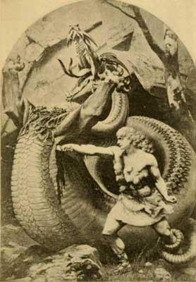 sigfrido y el dragón fafnir